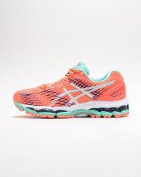 Tênis Asics Gel Nimbus 17 Feminino Flash Coral - T557N.0601